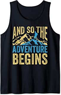 Funny Camping Adventure Perfect Family Camp Lovers Tank Top