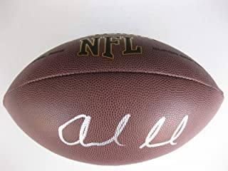 Signed Andrew Luck Football - stanford Cardinals coa proof. - Autographed Footballs