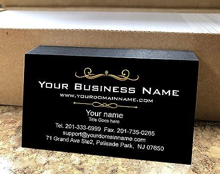 Simple Custom Premium Business Cards