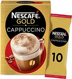 Nescafe Gold Cappuccino Coffee Mix Sachet 17g (10 Sachets)