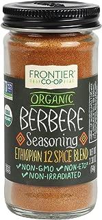 Frontier Berbere Seasoning ORGANIC 2.3 oz Bottle