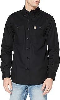 Carhartt Rugged Professional - Playera de Trabajo de Manga Larga Camisa de Trabajo con Botones para Hombre
