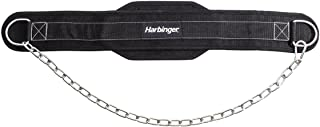 Harbinger Polypropylene Dip Belt with 30-Inch Steel Chain