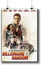 Billionaire Ransom (2017) Movie Poster Small Prints 980-001,Wall Art Decor for Dorm Bedroom Living Room (A4|8x12inch|21x29cm)