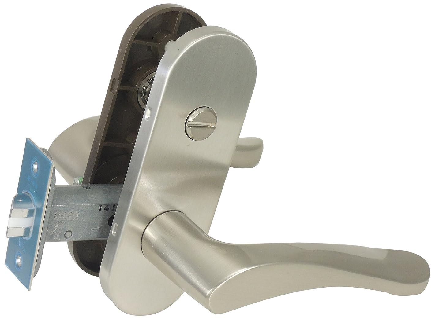 登場登場ギャロップ美和ロック ZLT902-6 室内用レバーハンドル 間仕切錠 シルバー 0150-525