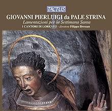 Palestrina: Lamentazioni per la Settimana Santa