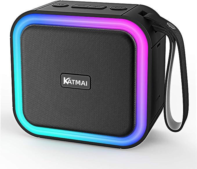 125 opinioni per CassaBluetooth, KATMAI F50, Luce sfumata, Altoparlanti Wireless Bluetooth 5.0,