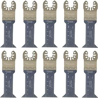 10 x 44mm SabreCut SP44L_10 mezcla de cuchillas para Dewalt Stanley Black and Decker Bosch Fein (No-StarLock) Makita Milwaukee Parkside Ryobi Worx Multi herramienta accesorios