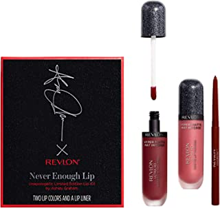 Revlon Never Enough Lip Unapologetic Limited Edition Lip Kit By Ashley Graham, 0.01 Ounce