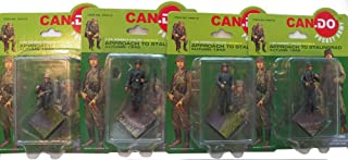 Approach to Stalingrad Series 2 Four Figures [A-D] - Can Do Pocket Army 1:35 Scale Combat Figures