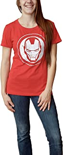 Marvel Avengers Iron Man Logo Juniors T-Shirt | Avengers Infinity War Edition