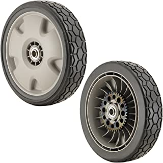 push mower rear wheels
