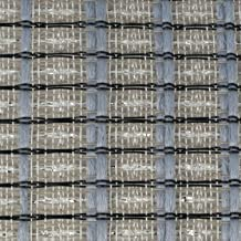 """Cabinet Grill Cloth, Black/Silver/Blue Weave, 34"""" Width"""
