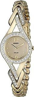 Seiko Women's SUP176 Swarovski Crystal-Accented Stainless...