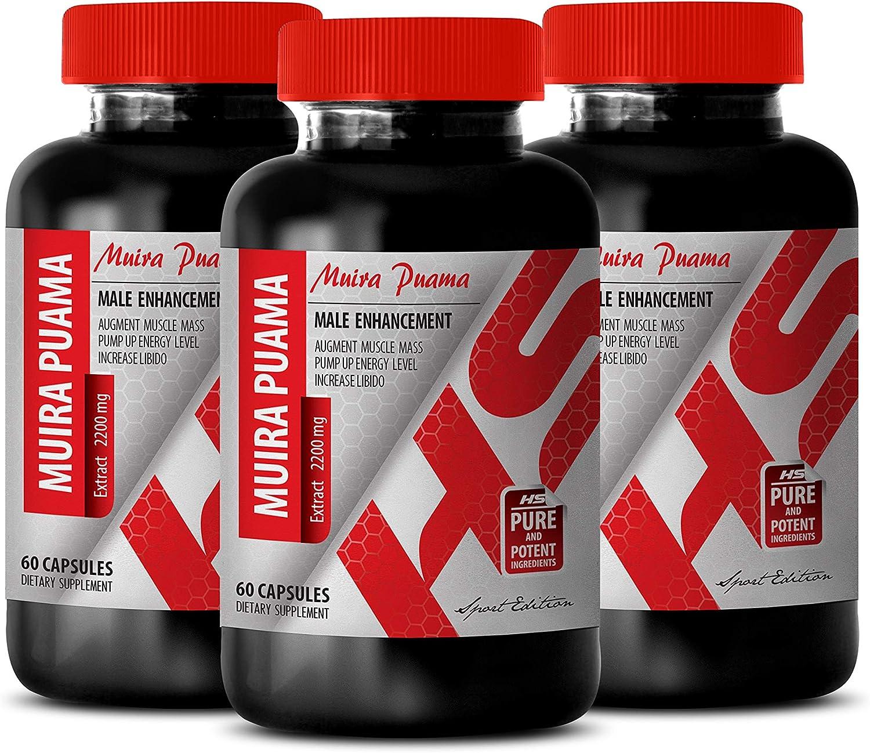 libido Booster for Men 売買 - Muira mg Male 2200 PUAMA Extract Enha 休日