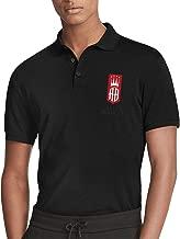 Men's Cotton ALEC-Bradley-Cigar-Art Polo Shirt