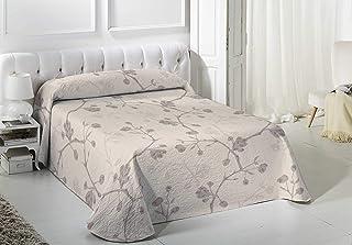 VIALMAN Couvre-lit Blanc 90 cm 180 x 260 cm