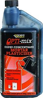 Everbuild Opti-Mix Mortar Plasticiser Super Concentrated Admixture, 1 Litre