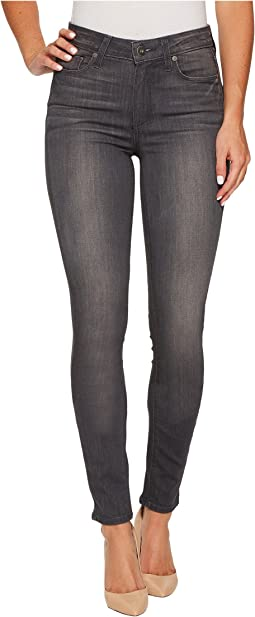 Paige - Hoxton Ultra Skinny in Summit Grey