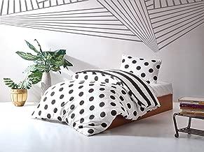 EnLora Home Single Quilt Cover Set - Duvet Cover: 155 x 200 cm Pillowcase: 50 x 80 cm, 1-Piece