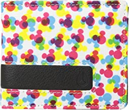 Showdown Print Bi-Fold Zip Wallet