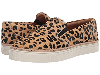 Lucchese After-Ride Slip-On (Leopard Hair-On) Women