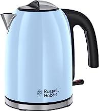 Russell Hobbs Colours Plus+ Heavenly Blue Waterkoker, 1.7 Liter, Hemels Blauw, Anti-kalkfilter, Energiebesparend, Snelkook...