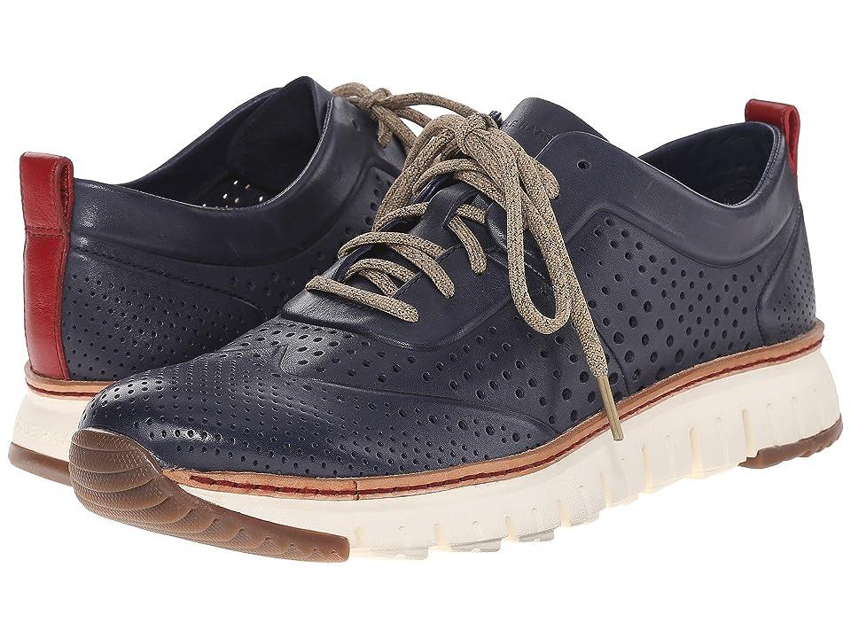 Cole Haan ZeroGrand Perforated Sneakers (Estate Blue) Men