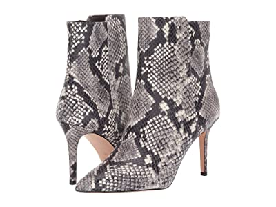 J.Crew Embossed Snake Lana Ankle Boot (Greyscale Shine) Women