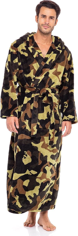 Alexander Del Rossa Men's Warm Fleece Outstanding with Super popular specialty store Big Robe Hood Ta and
