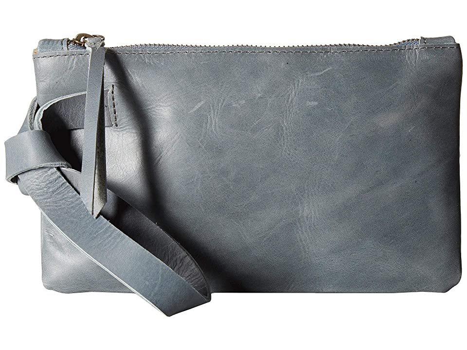 ABLE Rachel Wristlet (Denim Blue) Wristlet Handbags