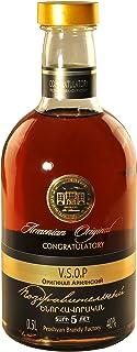 armenischer Brandy Congratulatory, 0,5L, 40% Alk, 5 Jahre gereift