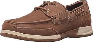 حذاء رجالي من Tommy Bahama مطبوع عليه عبارة Ashore Thing Boat