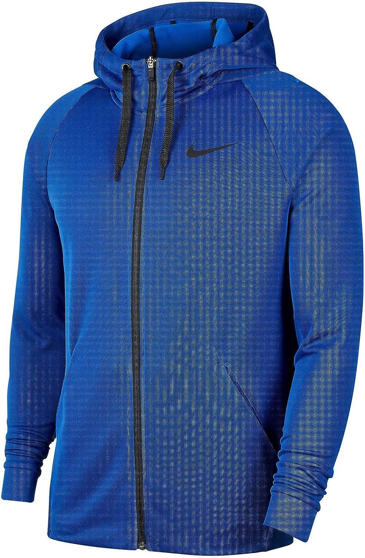 Nike Therma Fleece Veneer Hoodie Big and Tall Blue