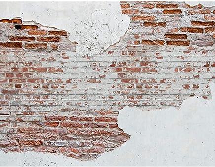 9083012a Tapisserie Photo Mur De Pierre 396 X 280 Cm Laine