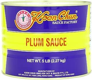 Koon ChunSauce, Plum, 5 Pound