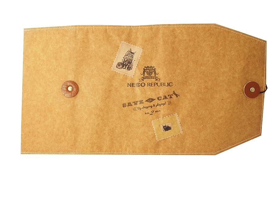 コミュニケーション軽動物園クイントデザイン ブックカバー文庫 ワックスペーパー kraft NR-20
