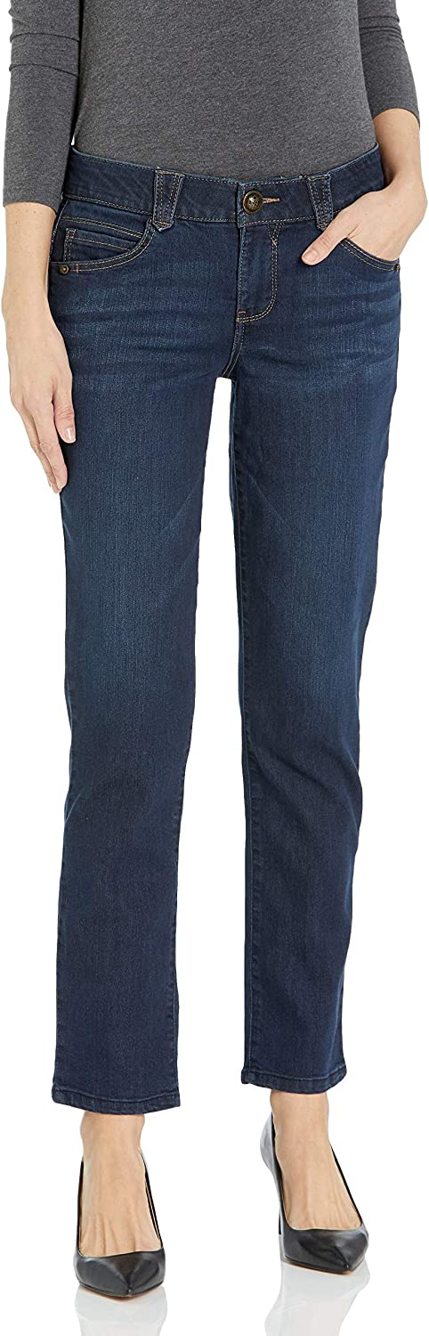 Democracy Women's Plus-Size Max Clearance SALE! Limited time! 43% OFF Ab Straight Solution Leg Jean