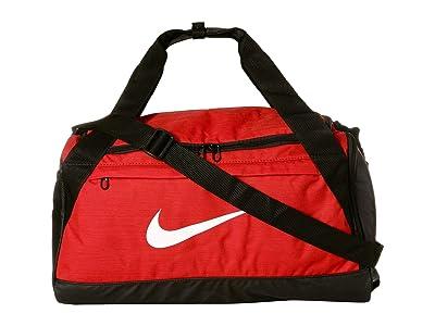 Nike Brasilia Small Training Duffel Bag (University Red/Black/White) Duffel Bags