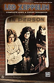 Led Zeppelin -- Complete Lyric & Chord Songbook