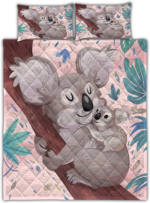 GAMUDA Koala Rapid Award rise Family Love Quilt Comforters Bedding Pillow Set