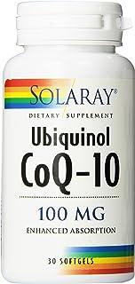 Solaray CoQ-10 Ubiquinol Capsules, 100mg | 30 Count
