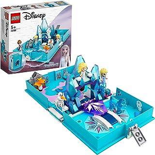 LEGO 43189 Disney Frozen 2 Elsa and the Nokk Storybook Adventures Portable Playset, Travel Toys for Kids