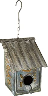 BACKYARD EXPRESSIONS PATIO · HOME · GARDEN 905653 License Plate Saltbox Bird House