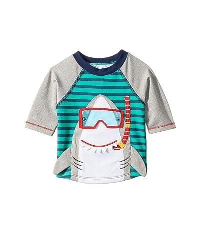 Mud Pie Shark Rashguard (Infant/Toddler) (Green) Boy