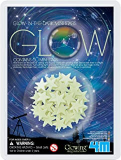 4M Glow-In-The-Dark Mini Stars Pack of 60 – Room Décor For Kids