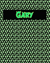 120 Page Handwriting Practice Book with Green Alien Cover Gary: Primary Grades Handwriting Book