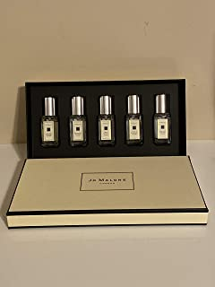 Jo Malone Cologne Spray 5-Piece Mini Variety Set for Men and Women…