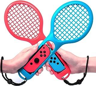 Jovno Nintendo switch Joy-Con用 テニスラケット マリオテニス エースに対応テニスラケット 2個セット