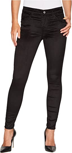 7 For All Mankind - Velvet Ankle Skinny in Black